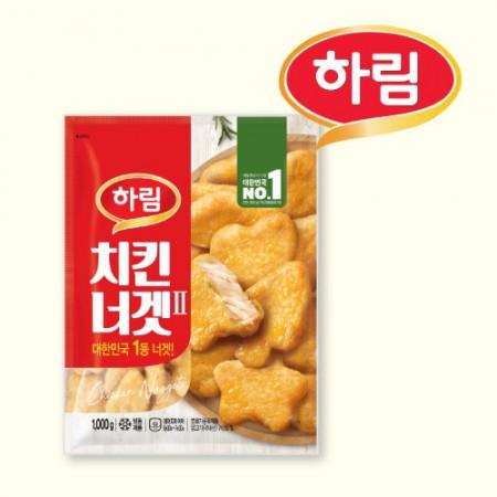 [하림]치킨너겟2 (1kg) 이미지