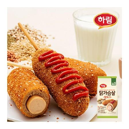 [하림] 닭가슴살 핫도그 (450g) 이미지