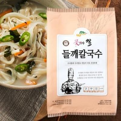 [우리밀] 꽃보다쌀 들깨칼국수 +들깨수제비