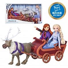 겨울왕국2 엘사와 안나의 스벤 컬렉션세트 디즈니공주 이미지