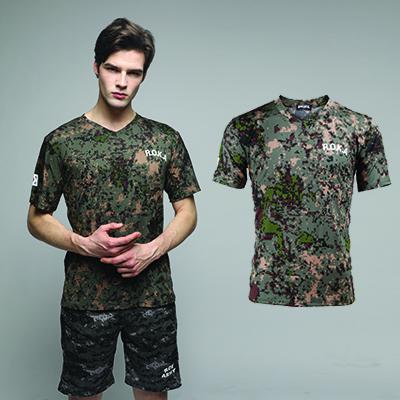 [네옥스] 쿨론 V넥 반팔 티셔츠 (ROKA / 태극기)