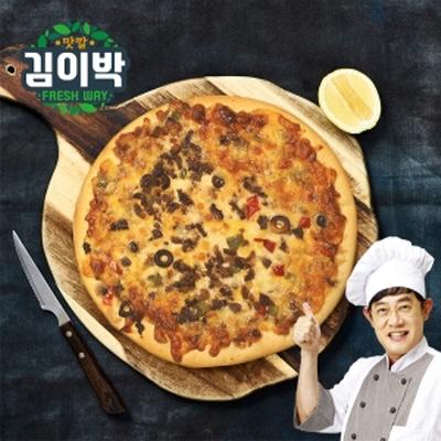 [김이박]이경규의 돌판오븐피자 450g 4개세트 (콤비2/불고기2)